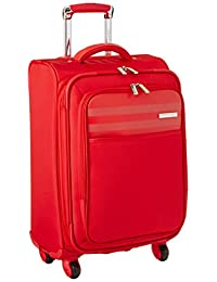 Calvin Klein Greenwich 2.0 21-Inch Upright Carry-On Suitcase, Red, One Size