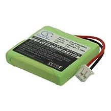 vintrons (TM) Bundle - 500mAh Replacement Battery For SAGEM DCP 12-300, DCP 22-300, + vintrons Coaster