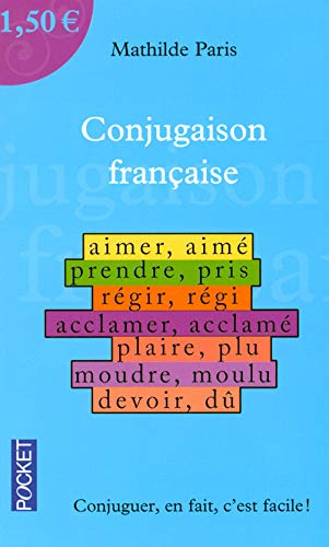 La Conjugaison Francaise A 1 50 Euros Parascolaire French Edition Mathilde Paris 9782266165013 Amazon Com Books