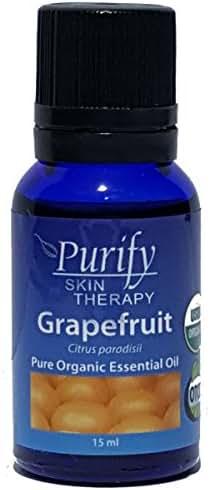 Grapefruit Pink Essential Oil Organic 100% Pure 15ml