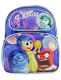 """New Disney Inside Out Small 12"""" Toddler School Backpack-3698"""