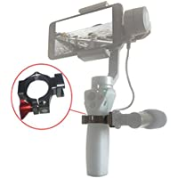 Woohot O-Ring Hot Shoe Adapter for DJI Osmo Mobile 2, Applied to Rode Microphone and LED Video or Other Accessory via 2 Cold Shoe Mount, Come With A Mini Tripod Stand.Mega Cool!