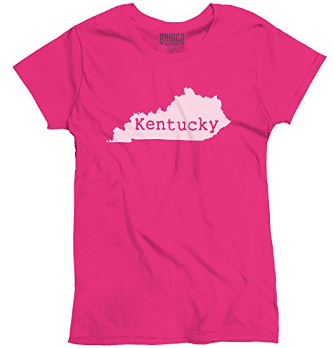 Kentucky State Shirt State Pride USA T Novelty Gift Ideas Ladies T-Shirt