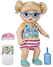 Baby Alive - Step n Giggle Blonde Hair Baby Doll - Light up Shoes - Drinks & Wets - Interactive Kids Toys - Ages 3+