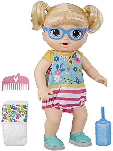 Image of Baby Alive Step 'N Giggle Baby Blonde Hair Doll with