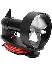 Water Thruster, 12V 10kg Water Thruster Long Battery Life Metal Underwater Thruster Brushless Motor for Fishing Boat Kayak
