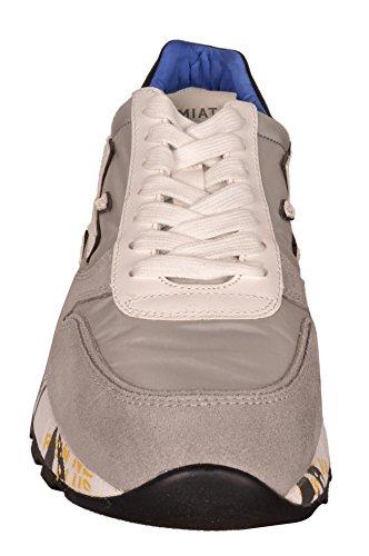 Premiata Mick Sneakers Chaussures Gris Homme Bleu Intérieur Mick 1430e