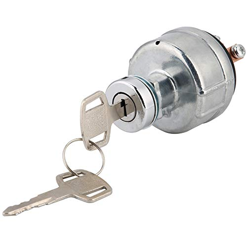 Suuone Ignition Switch, 6pin Universal Motorcycle Motor Ignition Key Switch: