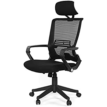 Bon GreenForest Ergonomic Office Chair High Back Mesh With Adjustable Lumbar  Support Headrest And Folded Mesh Back