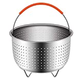 Lemonda Stainless Steel Steamer Basket Fits 8qt Instant Pot...