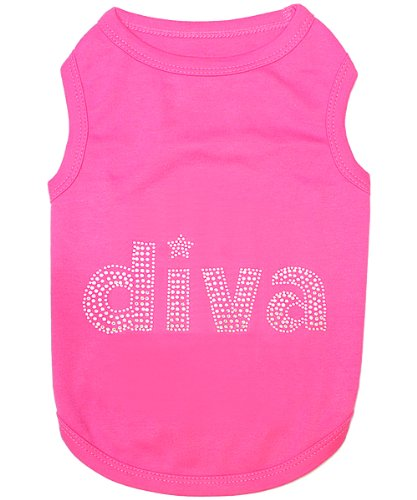 Diva Dog Tee (Parisian Pet Diva T-Shirt, XX-Small)