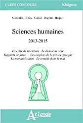 Sciences humaines 2013-2015
