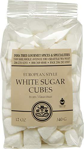 India Tree White European-Style Sugar Cubes, 12 oz Bag (Pack of 3)