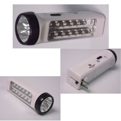2 Pack Automatic Power Failure Blackout Outage Rechargeable 14 LED Light Plug In Lamp (Emergency Flashlights Plug In)