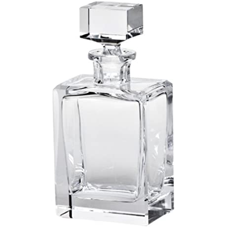 MOSER CRYSTAL DECANTERS Boss Decanter 16 7 Oz Cut Clear