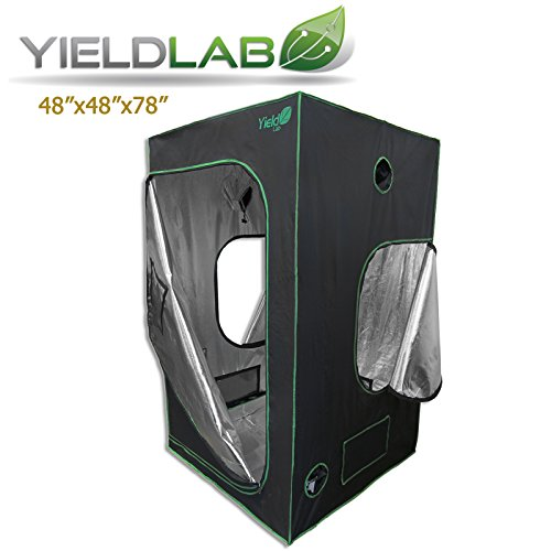 Yield Lab 48x48x78 Reflective Grow Tent by Yield Lab