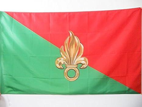 AZ FLAG Bandera de la LEGIÓN EXTRANJERA Francesa 90x60cm para Palo - Bandera EJÉRCITO FRANCÉS 60 x 90 cm: Amazon.es: Jardín