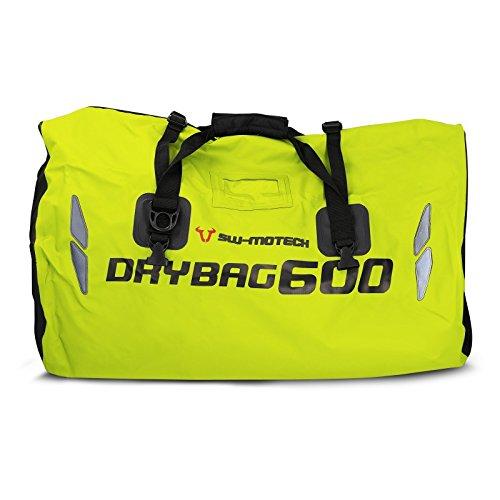 Tail Bag Kawasaki VN1500 Classic Tourer SW Motech Drybag 600 yellow, 60 liters, - Sw 625