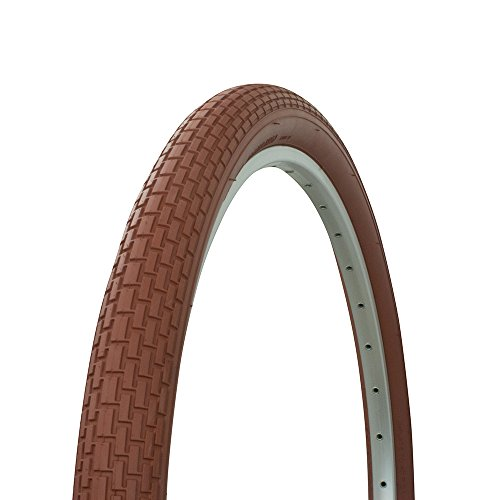 Fenix Beach Cruiser Tire 26in x 2.125in, (Brown) ()
