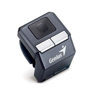 Genius Ring Mouse - Ratón óptico, color negro