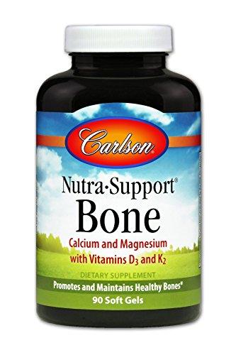 Carlson Nutra Support Calcium Magnesium Vitamins