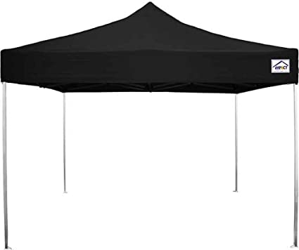 the latest 14ccb fc87e Impact Canopy 10' x 10' Ultra Light Canopy Tent, UV Coated, Pop Up Canopy,  Black