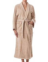 Unisex Terry Cloth Bathrobe- 100% Long Staple Cotton Hotel/Spa Robes - Classic Bath Robes For Men or Women