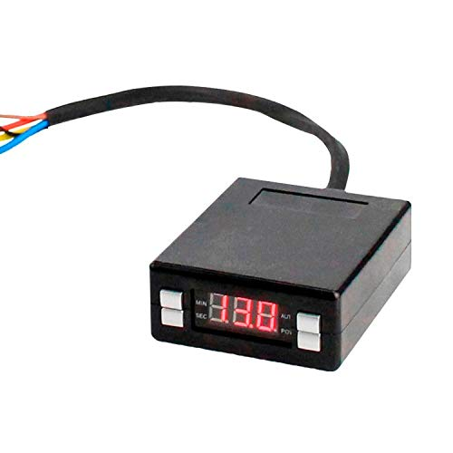 Turbo Timer Universal 12V Mini Box Style Car Turbo Timer Red LED Digital Display Turbo Timer: DIY & Tools