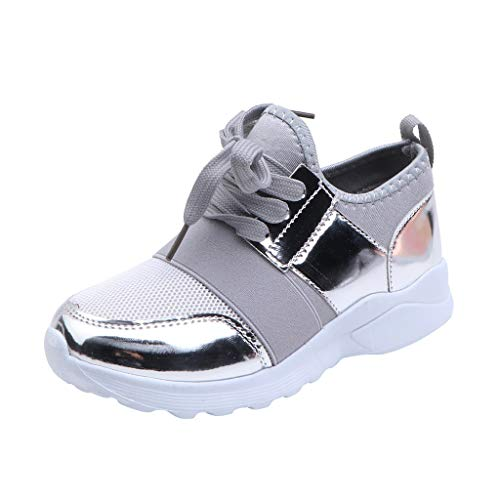 Baby Sneaker Shoes for Girls Boy Kids Breathable Mesh Light Weight Athletic Running Walking Casual Sports Shoes Gray