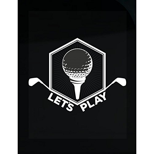 Truck Golf Shirt (TeeSwitch Lets Play My Sport Golf Is Awesome Love It - Sticker)