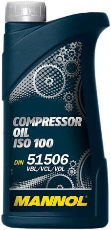 5x Mannol Mn2902 1 Compressor Oil Iso 100 Industrieöl Kompressor 1l Auto