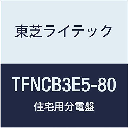 東芝ライテック 小形住宅用分電盤 Nシリーズ 50A 8-0 扉付 基本タイプ TFNCB3E5-80 B01J9QI3CW
