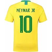 Neymar JR 10 Brazil 2018 Men Soccer Jersey