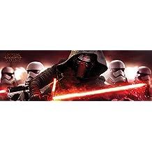 """Star Wars: Episode VII - The Force Awakens - Door Movie Poster / Print (Kylo Ren & Stormtroopers) (Size: 62"""" x 21"""")"""