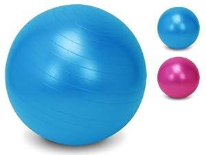 Yogaball 55cm - Gymnastikball - Sitzball - Fitnessball - Trainingsball -...