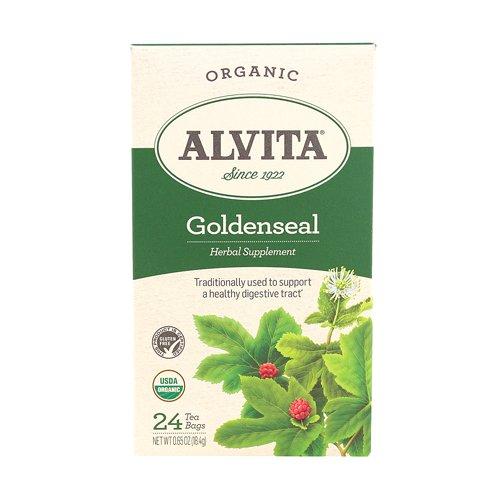 Alvita Teas Goldenseal Tea, Organic