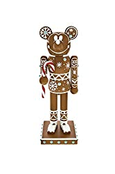 Disney Parks Mickey Mouse Gingerbread Man Figurine...