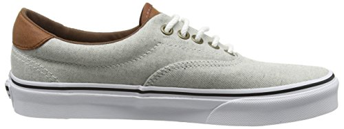 Mixte White Sneakers True Leather Vans Authentic Adulte Oxford Black Beige amp; qvExzwxH