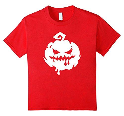 Top 10 Easy Halloween Costumes (Kids Halloween Scary Pumpkin Face - Easy Halloween Costume Top 10 Red)