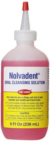 Fort Dodge Animal Nolvadent Oral Cleansing Solution Bottl...
