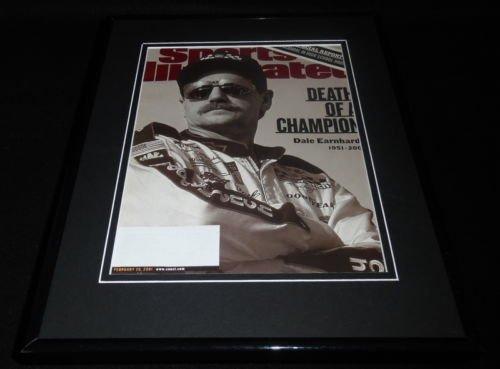 Dale Earnhardt Sr Framed 11x14 ORIGINAL 2001 Sports Illustrated Cover ()