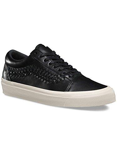 Vans Herren Sneaker Leather Old Skool Weave DX Sneakers (leather) black