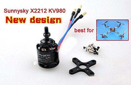 SAUJNN SunnySky X2212 Brushless Motor KV980 for RC Airplane Best for Quadcopter XXcopter KK Copter 41W-7xRP9BL