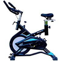 LEEWAY National Bodyline Spin Bike NB -S6 for Home Gym and Indoor Cycle (Blue and Black)