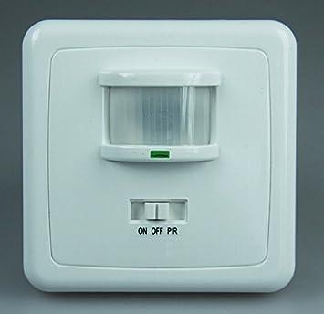 Bewegungsmelder 160° Unterputzmontage, LED geeignet, 3-Draht ...