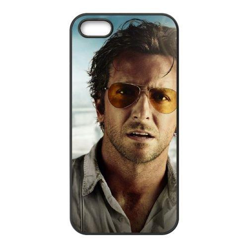 Bradley Cooper The Hangover Movies coque iPhone 5 5S cellulaire cas coque de téléphone cas téléphone cellulaire noir couvercle EOKXLLNCD22383