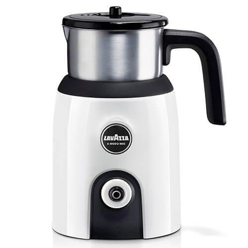 Lavazza A Modo Mio MilkUp Cappuccino, Latte & Chocolate Frother White Lavazza Modo Mio
