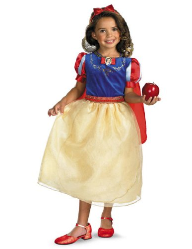 Snow White Deluxe - Size: Child S(4-6x)