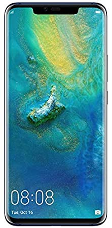 Huawei 6.39インチ Mate 20 Pro SIMフリースマートフォン ミッドナイトブルー※Leicaトリプルレンズ搭載、ワイヤレス急速充電可能【日本正規代理店品】 MATE 20 PRO/MID/A
