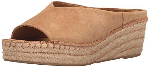 Pine Espadrille Wedge Sandal, Dark Camel, 8.5 M US (Franco Sarto Slides)